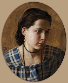Portrait of Vilhemine Erichsen