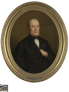Portret van Auguste Waets