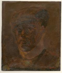 Portret van een man met pet
