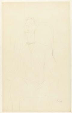 Portret van Jean Cocteau
