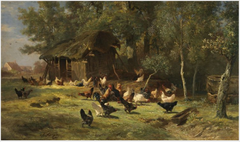 Poultry among Trees