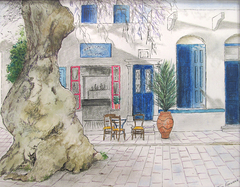 Pyrgos village on Tinos island - Πύργος Τήνου