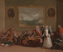 Rehearsal of an opera