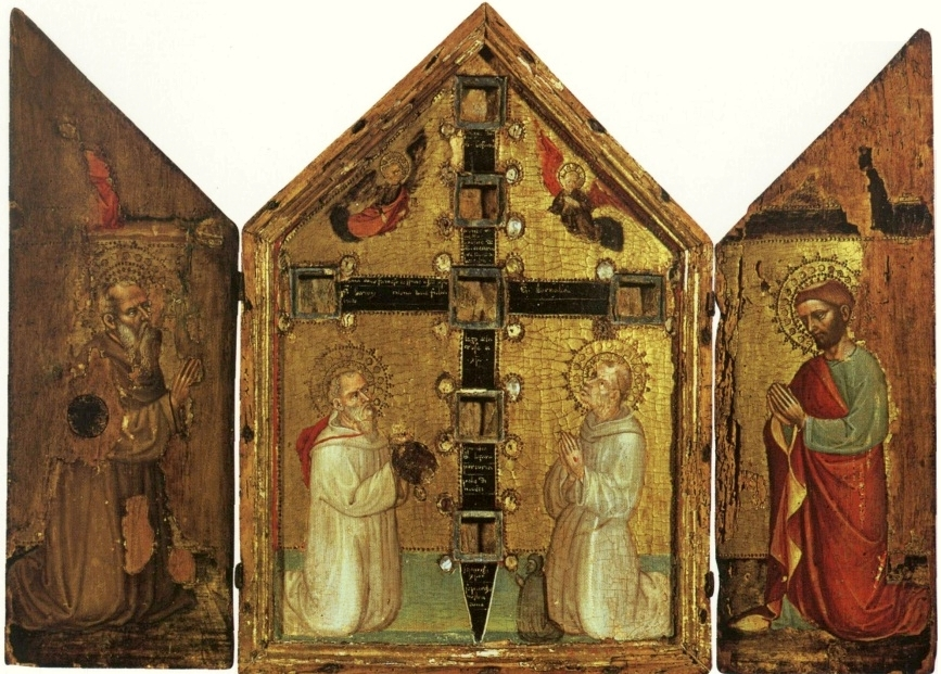 Reliquary triptych