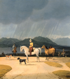 Riders at the Tegernsee
