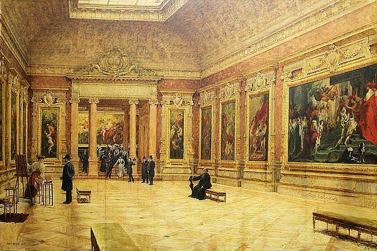 Rubens Room in the Louvre