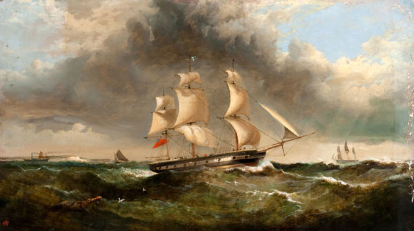 Sailing Before a Gale