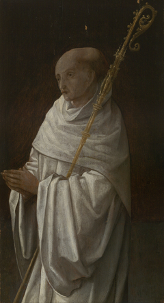 Saint Bernard; Virgin andChild