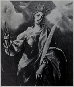 Saint Catherine with Crown and Palm Branch