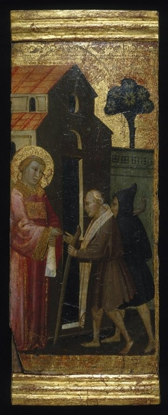 ''Saint Lawrence Distributing Alms to the Poor''