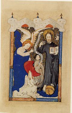 Saint Michael Presenting a Donor to Christ as Salvator Mundi