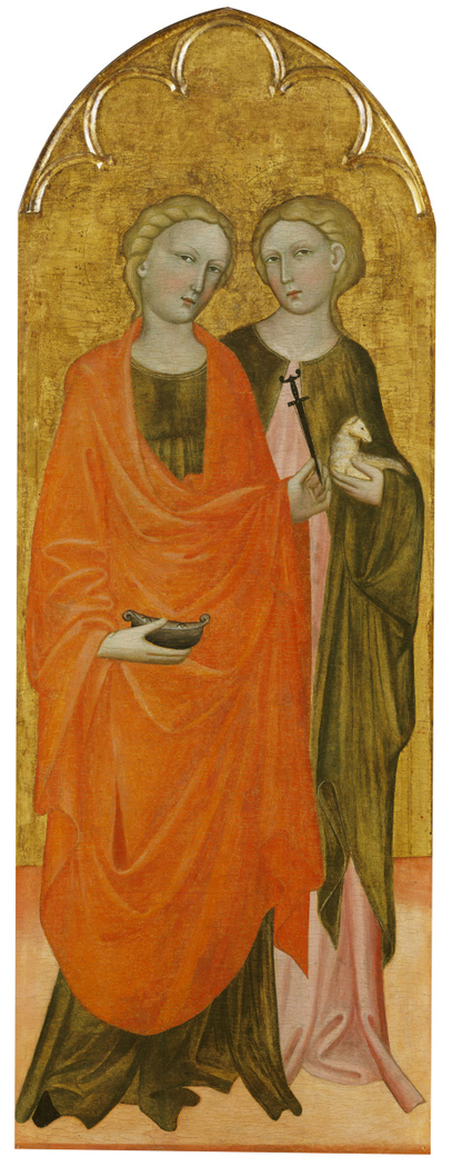 Saints Lucy and Agnes