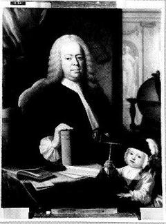 Samuel Radermacher (1693-1761) en zijn kleinzoon Samuel Trezel Bevers (gest. 1751)