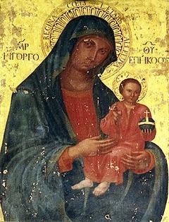 Santa Vergine con il Bambino