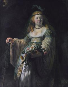 Saskia van Uylenburgh in Arcadian Costume