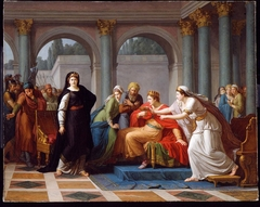 """""""Seigneur! Voyez ces yeux"""" (Cleopatra Discovered by Rodogune to Have Poisoned the Nuptial Cup)"""