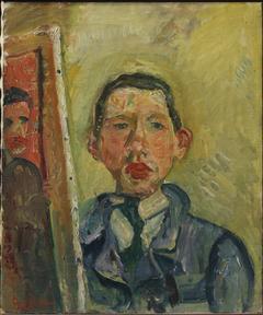 Self-portrait by Chaim Soutine