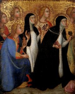 Seven Saints in Adoration