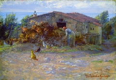 Shed in Antignano