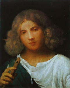 Shepherd with a Flute