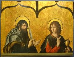 St. Bartholomew and St. John the Evangelist