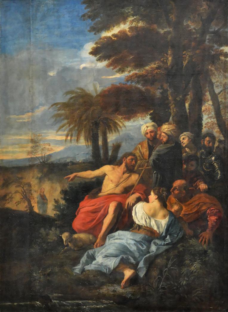 St. John the Baptist Preaching in the Desert