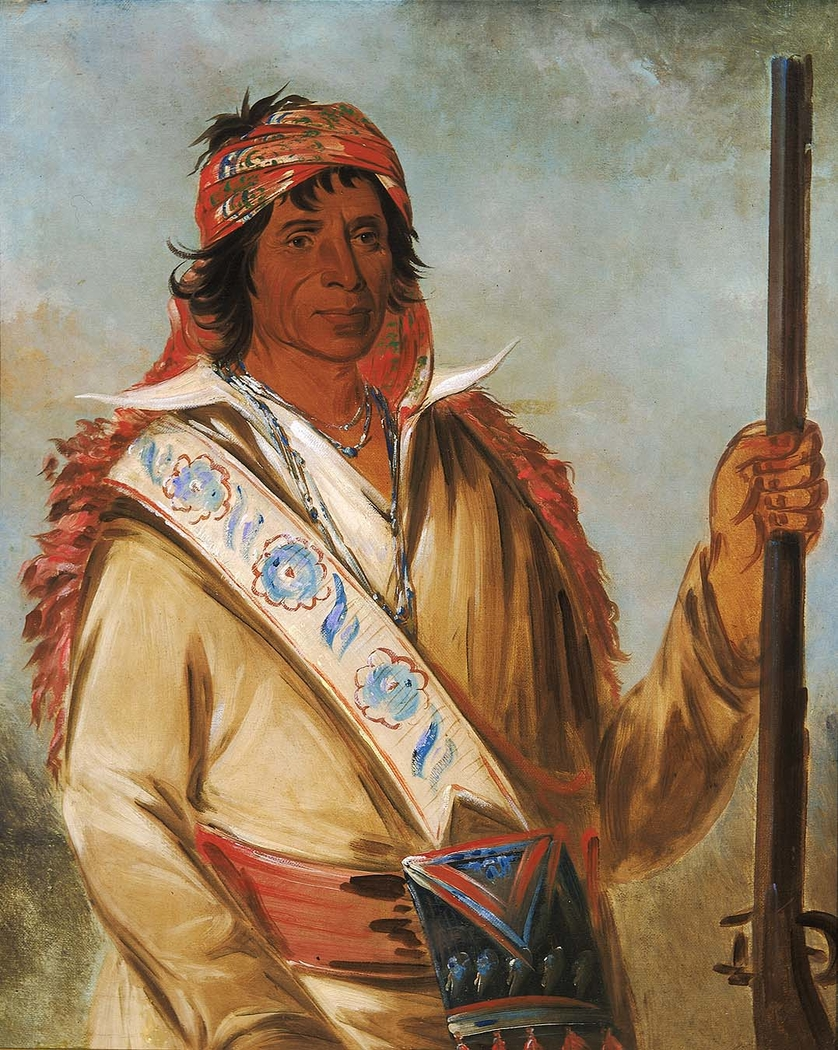 Steeh-tcha-kó-me-co, Great King (called Ben Perryman), a Chief
