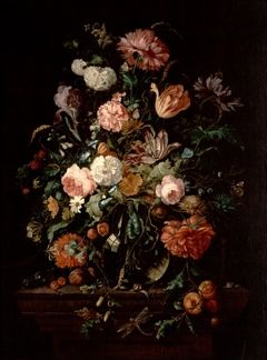 Still Life with Flowers in a Glass Bowl