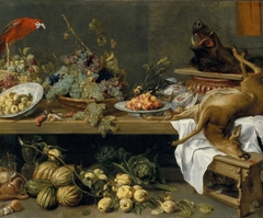 Still Life with Fruit, Vegetables and Dead Game