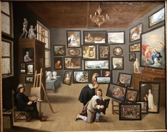 The Artist in his Workshop