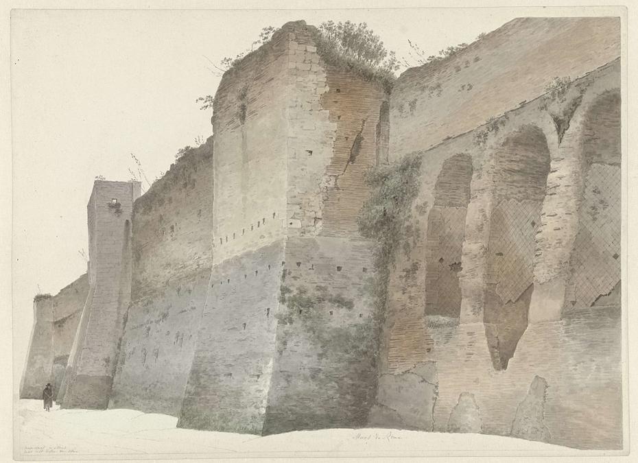 The Aurelian Wall in Rome