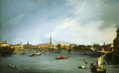 The Bacino di San Marco, Venice, seen from the Giudecca