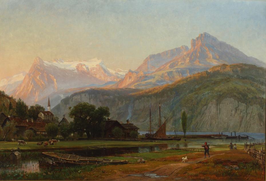 The Bay of Uri, Lake Lucerne