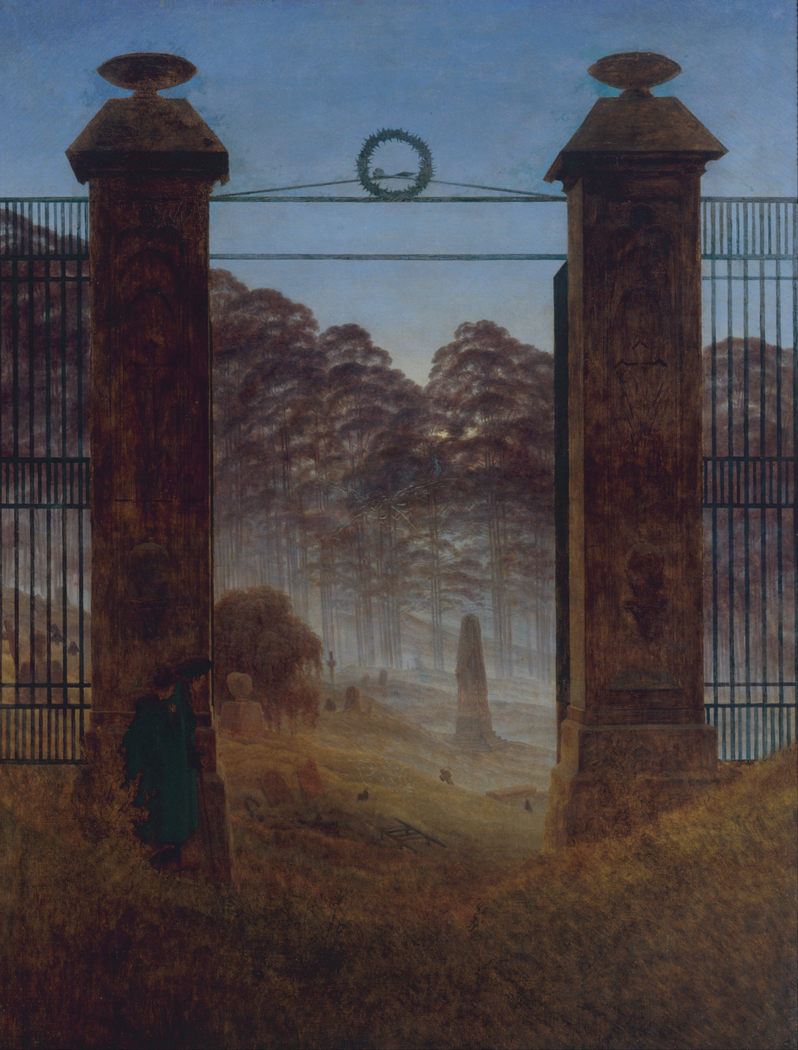 The Cemetery Entrance