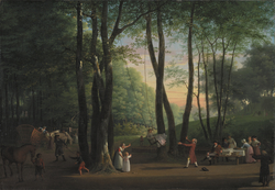 The Dancing Glade at Sorgenfri North of Copenhagen