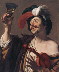 The happy Violinist