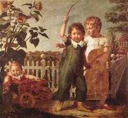 The Hülsenbeck children
