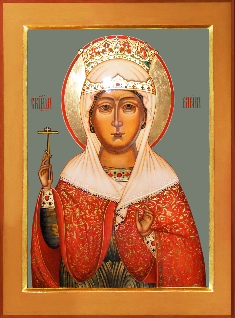 The image of the holy queen Elena