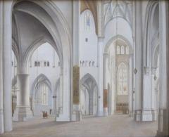 The Interior of the Church of Saint Bavo, Haarlem
