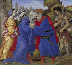 The Meeting of Joachim and Anne outside the Golden Gate of Jerusalem
