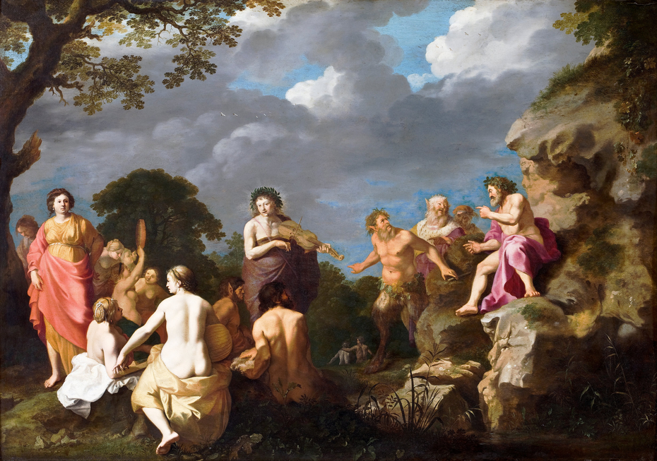 The Musical Contest between Apollo and Marsyas