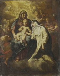 The Mystic Marriage of St Rose of Lima