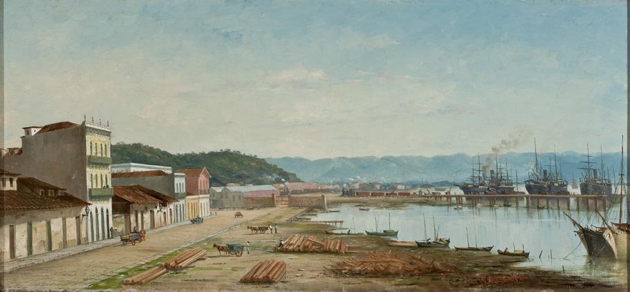 The Ramp of Porto do Bispo in Santos