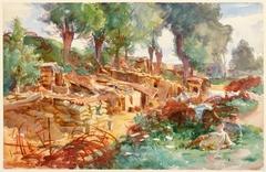 The Sunken Road, Ransart