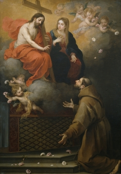 The Vision of Saint Francis in the Portiuncula