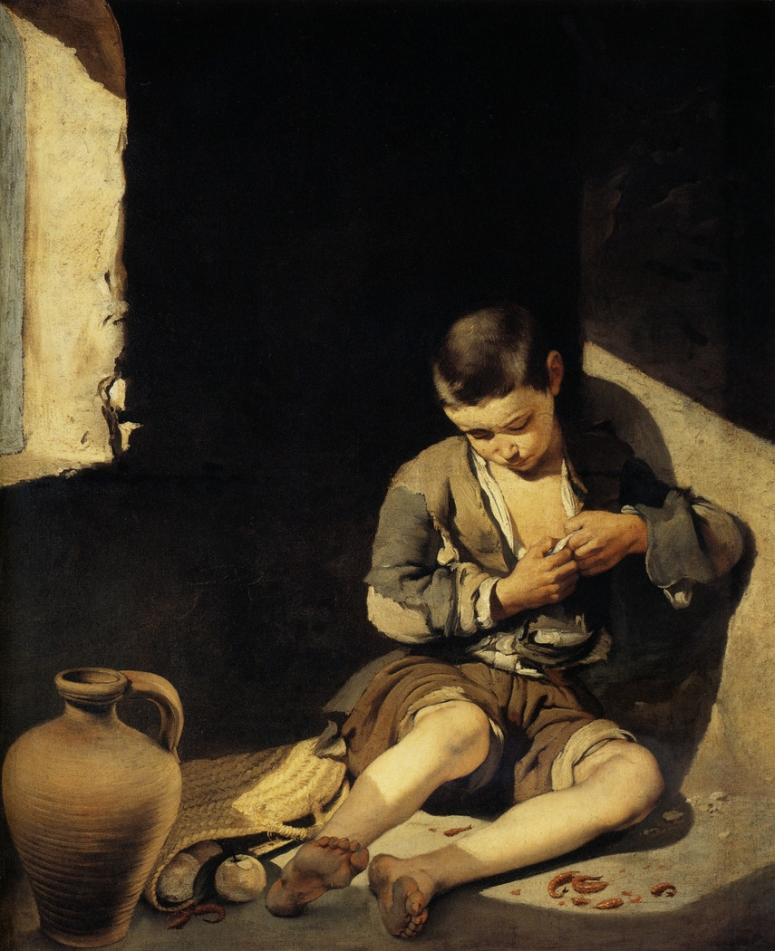 The Young Beggar