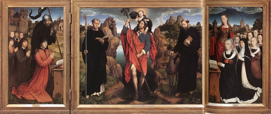 Triptych of the Family Moreel