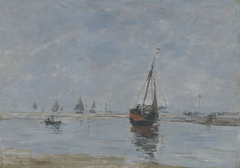 Trouville at LowTide