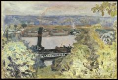 Tugboat on the Seine