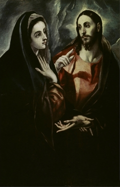 Christ bids Farewell to his Mother